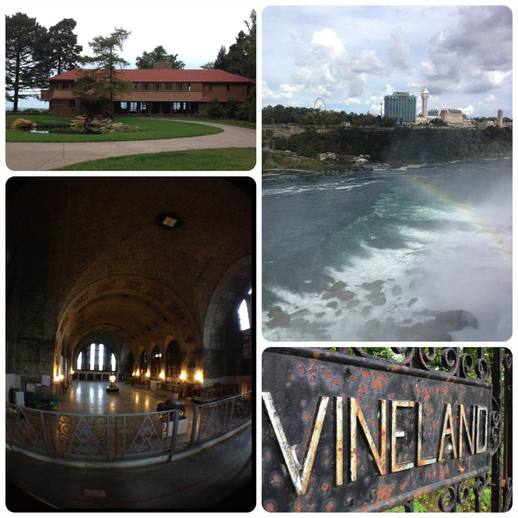 Road trip to Niagara Falls and Buffalo.