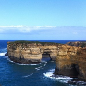 At the Loch Ard Gorge